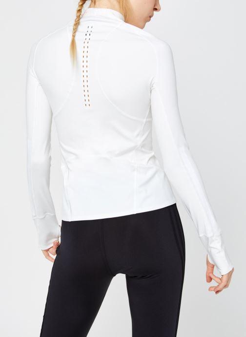 Vêtements adidas by Stella McCartney Truepur Ls Blanc vue portées chaussures