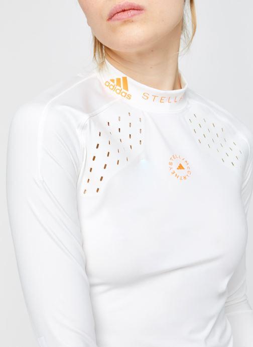 Vêtements adidas by Stella McCartney Truepur Ls Blanc vue face