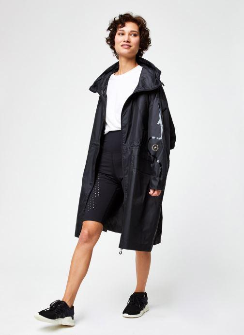 Vêtements adidas by Stella McCartney Long Parka W.R. Noir vue bas / vue portée sac