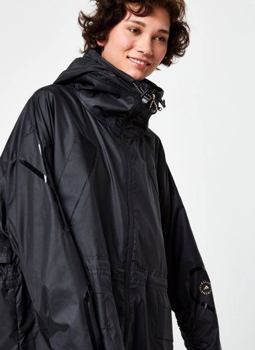 Vêtements adidas by Stella McCartney Long Parka W.R. Noir vue face
