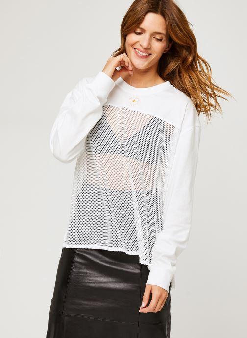 Vêtements adidas by Stella McCartney Longsleeve Top Blanc vue droite