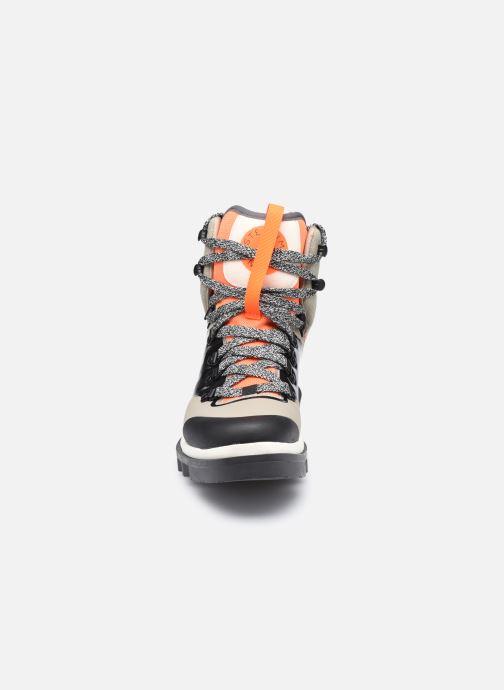 Sportschuhe adidas by Stella McCartney Eulampis Boot beige schuhe getragen