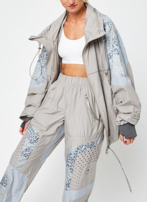 Vêtements adidas by Stella McCartney Training Jkt Beige vue détail/paire