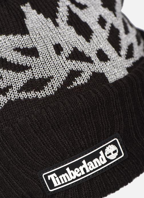 Mütze Timberland T21332 schwarz schuhe getragen