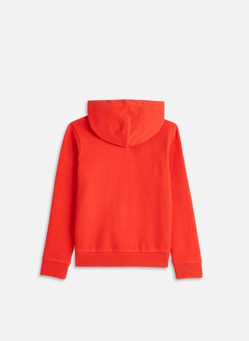 Vêtements Timberland T25R40 Rouge vue bas / vue portée sac