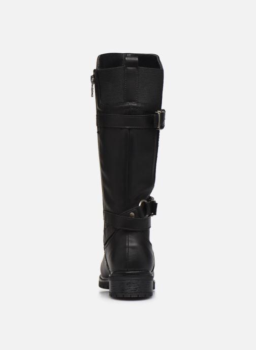 Stiefel Xti 57256 schwarz ansicht von rechts