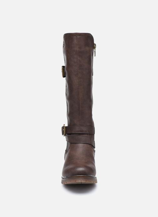 Bottes Xti 57256 Marron vue portées chaussures