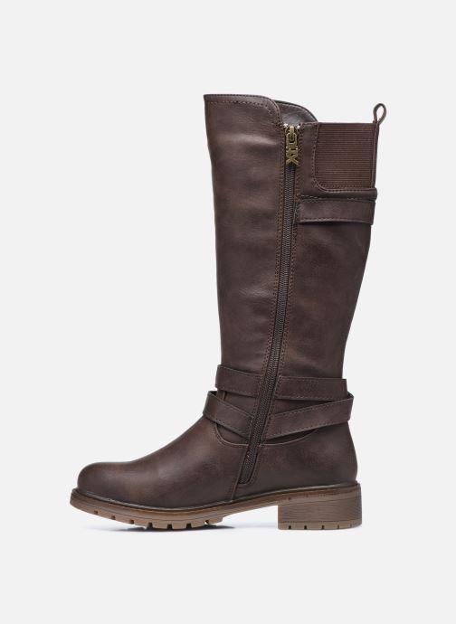 Stiefel Xti 57256 braun ansicht von vorne