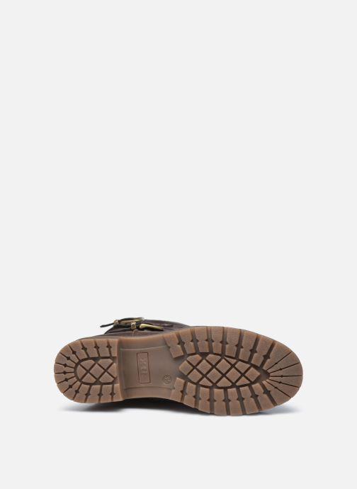 Stiefel Xti 57256 braun ansicht von oben