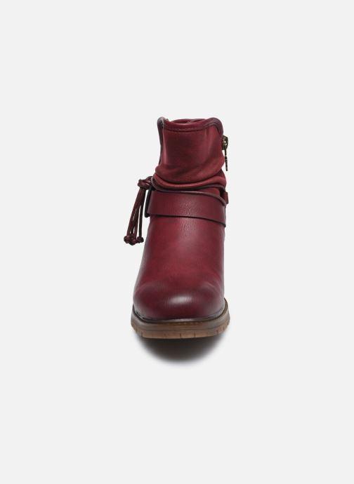 Stiefeletten & Boots Xti 57255 weinrot schuhe getragen