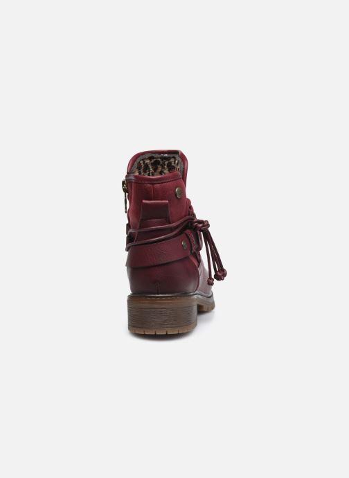 Stiefeletten & Boots Xti 57255 weinrot ansicht von rechts