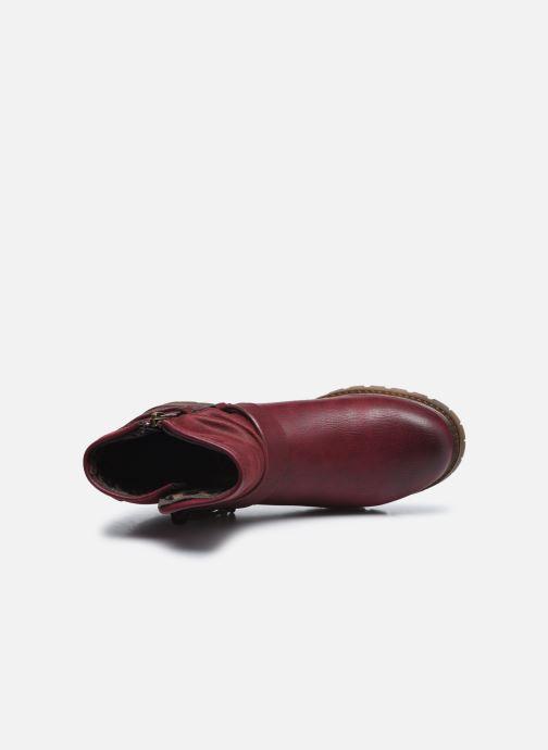 Stiefeletten & Boots Xti 57255 weinrot ansicht von links