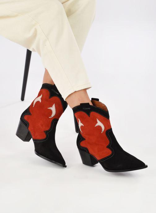 Stivaletti e tronchetti Made by SARENZA Sartorial Folk Boots #1 Rosso immagine dal basso