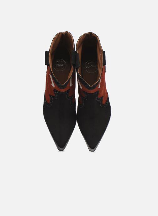 Bottines et boots Made by SARENZA Sartorial Folk Boots #1 Rouge vue portées chaussures
