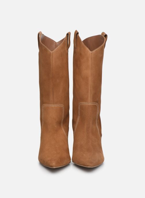 Stiefel Made by SARENZA Sartorial Folk Boots #3 braun schuhe getragen