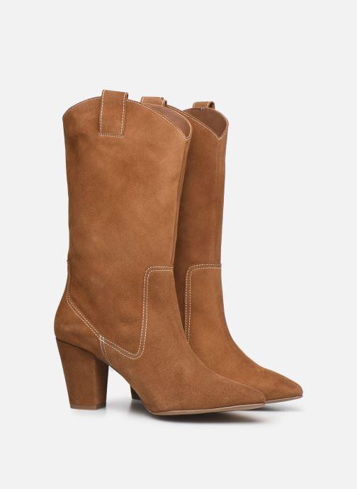 Stiefel Made by SARENZA Sartorial Folk Boots #3 braun ansicht von hinten