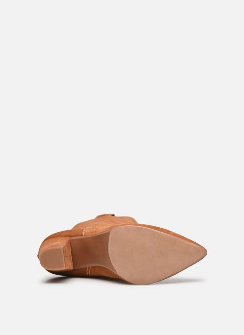 Stiefel Made by SARENZA Sartorial Folk Boots #3 braun ansicht von oben