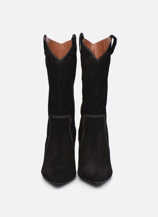 Stiefel Made by SARENZA Sartorial Folk Boots #3 schwarz schuhe getragen