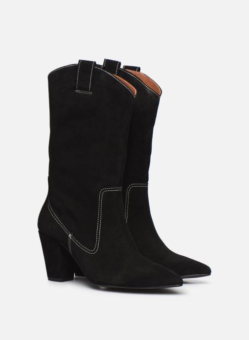 Stiefel Made by SARENZA Sartorial Folk Boots #3 schwarz ansicht von hinten