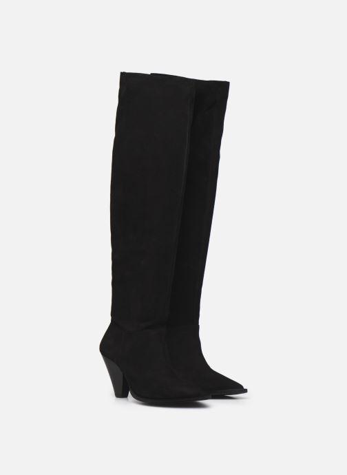 Stiefel Made by SARENZA Sartorial Folk Bottes #1 schwarz ansicht von hinten
