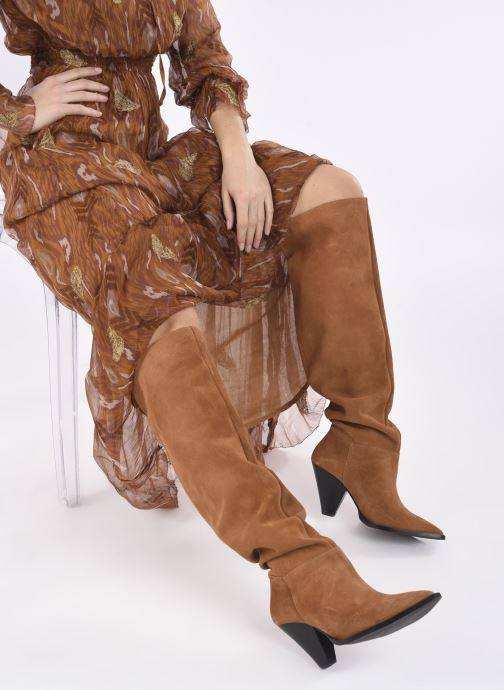 Stivali Made by SARENZA Sartorial Folk Bottes #1 Marrone immagine dal basso
