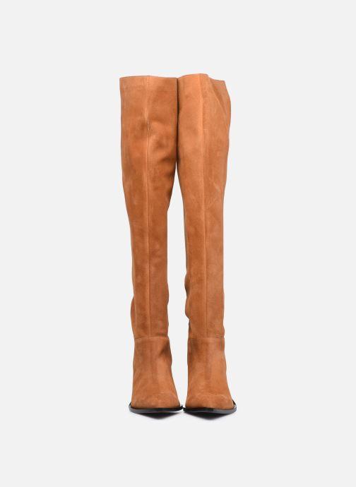 Stivali Made by SARENZA Sartorial Folk Bottes #1 Marrone modello indossato
