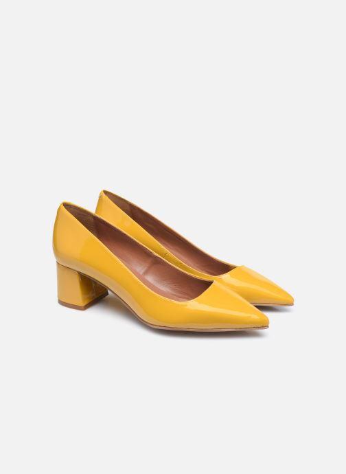 Zapatos de tacón Made by SARENZA Sartorial Folk Escarpins #2 Amarillo vistra trasera