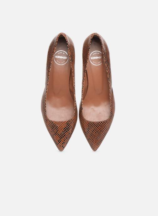 Zapatos de tacón Made by SARENZA Sartorial Folk Escarpins #2 Marrón vista del modelo