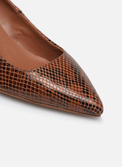 Zapatos de tacón Made by SARENZA Sartorial Folk Escarpins #2 Marrón vista lateral izquierda