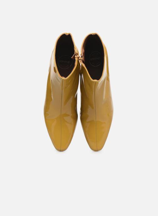 Stiefeletten & Boots Made by SARENZA Classic Mix Boots #2 gelb schuhe getragen