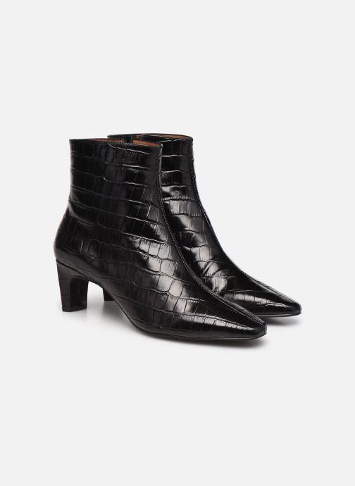Bottines et boots Made by SARENZA Classic Mix Boots #2 Noir vue derrière