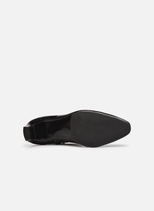 Bottines et boots Made by SARENZA Classic Mix Boots #2 Noir vue haut