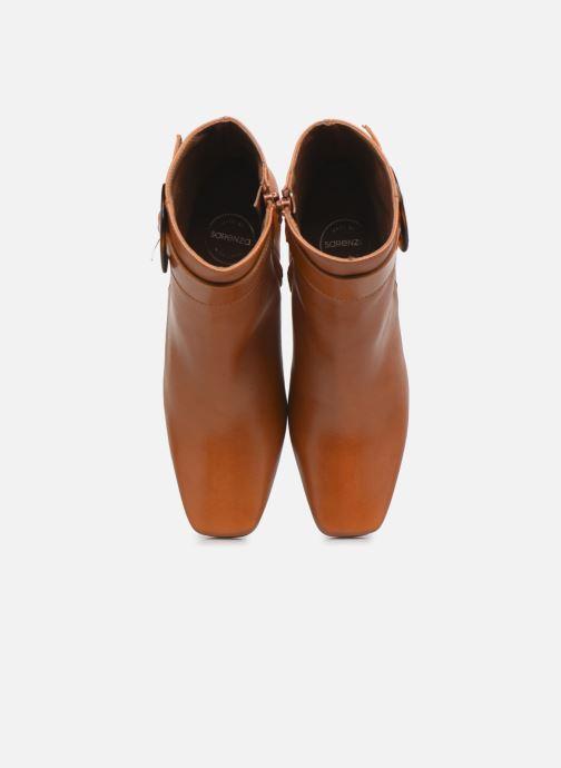 Bottines et boots Made by SARENZA Classic Mix Boots #3 Marron vue portées chaussures