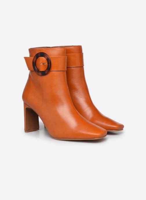 Stiefeletten & Boots Made by SARENZA Classic Mix Boots #3 braun ansicht von hinten