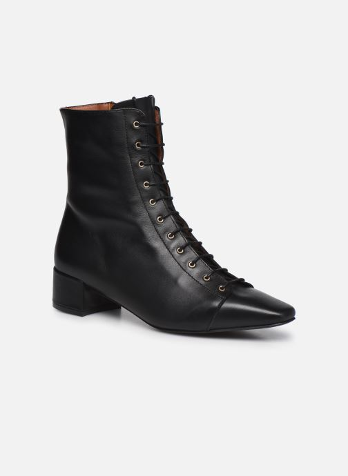 Botines  Made by SARENZA Classic Mix Boots #4 Negro vista lateral derecha