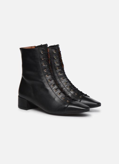 Botines  Made by SARENZA Classic Mix Boots #4 Negro vistra trasera