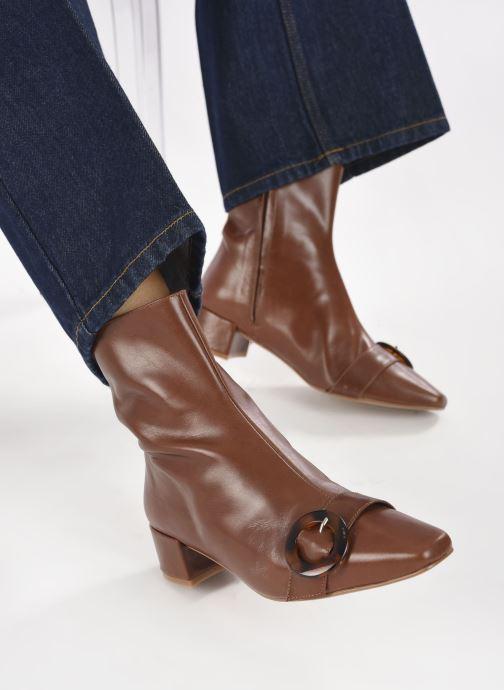 Stivaletti e tronchetti Made by SARENZA Classic Mix Boots #5 Marrone immagine dal basso