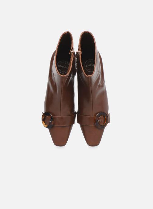 Stivaletti e tronchetti Made by SARENZA Classic Mix Boots #5 Marrone modello indossato