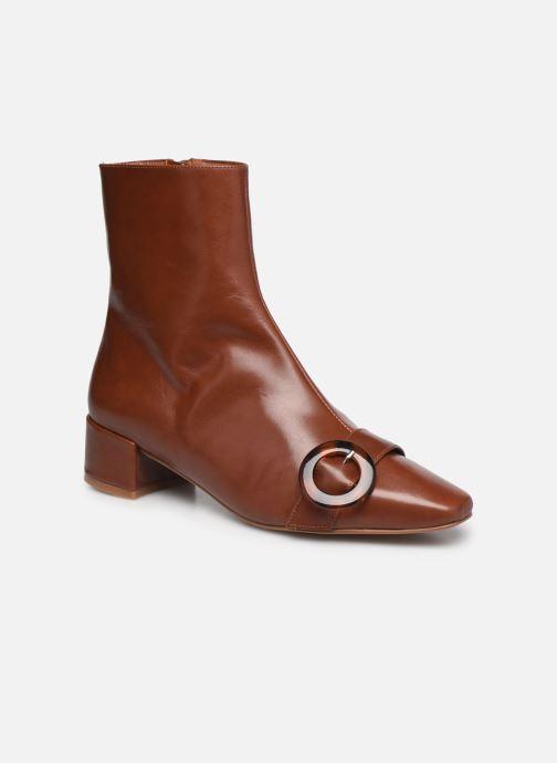 Stivaletti e tronchetti Made by SARENZA Classic Mix Boots #5 Marrone immagine destra