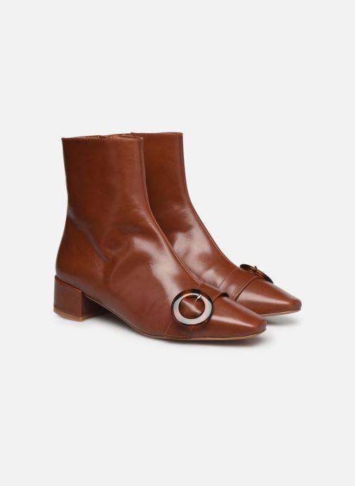 Stivaletti e tronchetti Made by SARENZA Classic Mix Boots #5 Marrone immagine posteriore