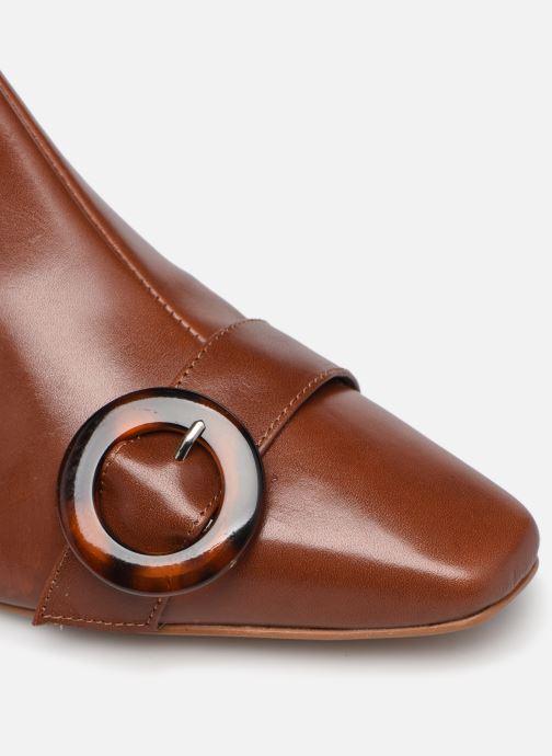 Stivaletti e tronchetti Made by SARENZA Classic Mix Boots #5 Marrone immagine sinistra