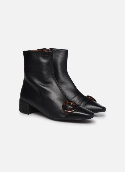 Boots en enkellaarsjes Made by SARENZA Classic Mix Boots #5 Zwart achterkant