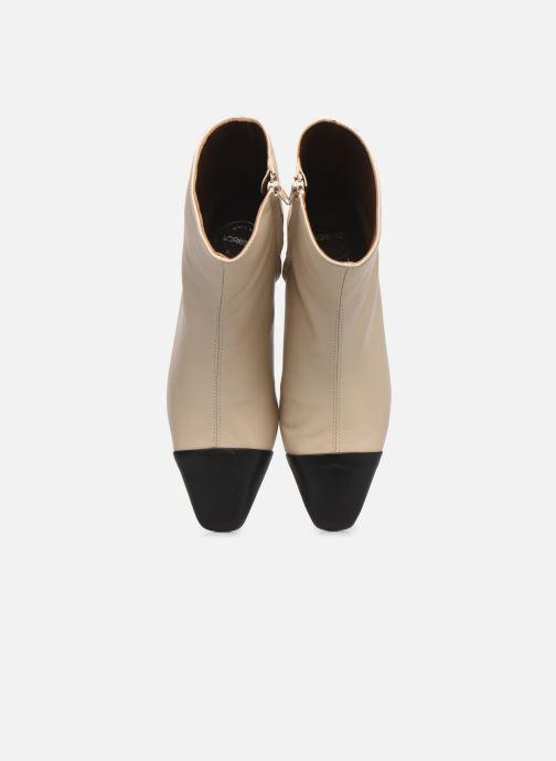 Stivaletti e tronchetti Made by SARENZA Classic Mix Boots #8 Beige modello indossato