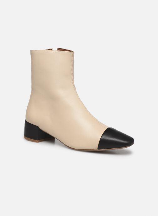 Bottines et boots Made by SARENZA Classic Mix Boots #8 Beige vue droite
