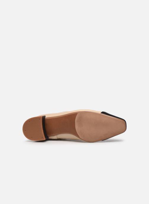 Bottines et boots Made by SARENZA Classic Mix Boots #8 Beige vue haut