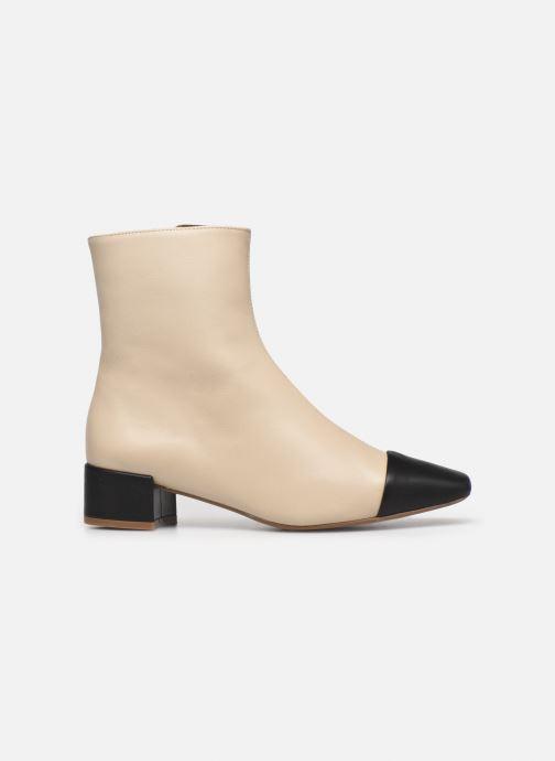 Bottines et boots Made by SARENZA Classic Mix Boots #8 Beige vue détail/paire