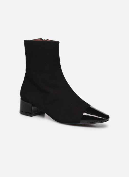 Botines  Made by SARENZA Classic Mix Boots #8 Negro vista lateral derecha