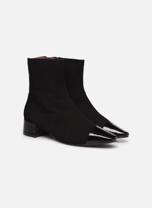 Botines  Made by SARENZA Classic Mix Boots #8 Negro vistra trasera