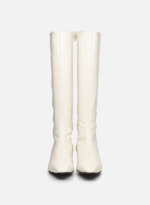 Bottes Made by SARENZA Classic Mix Bottes #2 Blanc vue portées chaussures