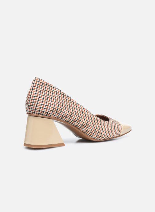 Zapatos de tacón Made by SARENZA Classic Mix Escarpins #3 Beige vista de frente